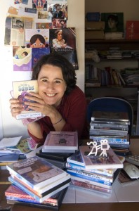 Luiza Lins, diretora geral da Mostra de Cinema Infantil de Florianopolis
