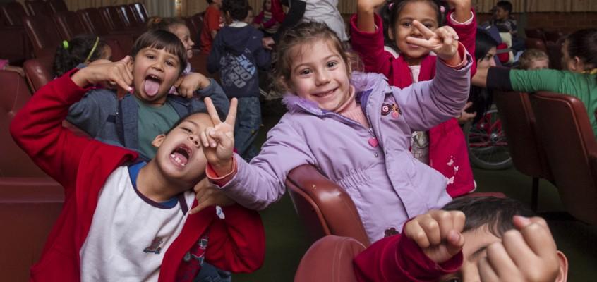 Mostra de Cinema Infantil percorre escolas através do Circuito e da itinerância