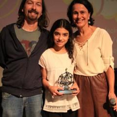 Guto Lima, Camila Araújo e Luiza Lins. Foto Kélen Oliveira