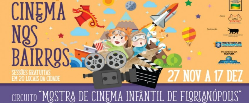 Projeto Cinema nos Bairros vai levar filmes a comunidades da Capital