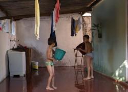 A piscina de Caíque