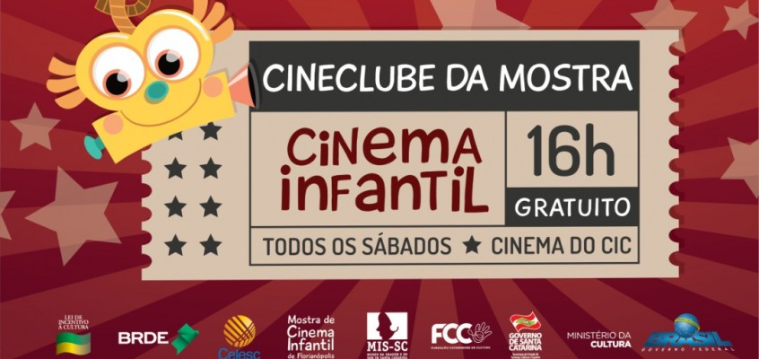 Edição 2018 do Cineclube Infantil é lançada com exibição de filmes produzidos com crianças