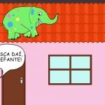 O elefante maluco
