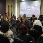 Encontro do Cinema Infantil debate fortalecimento da produção audiovisual