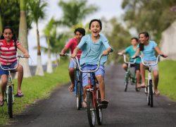 A aventura da primeira bicicleta