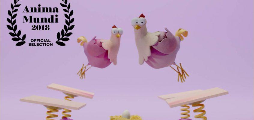 Poemas animados: quem botou o ovo na bota?