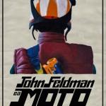 John Feldman e a moto