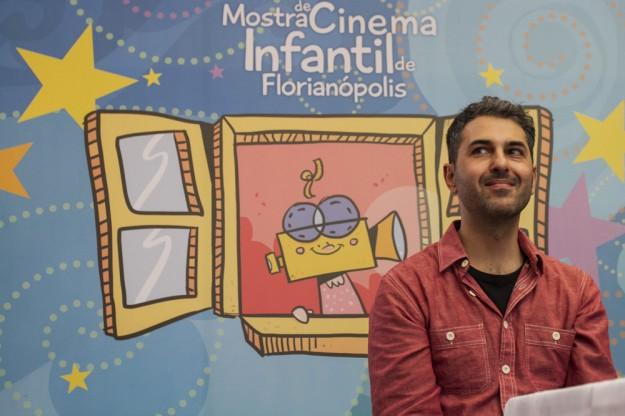 Alê Abreu na Mostra de Cinema Infantil de 2014