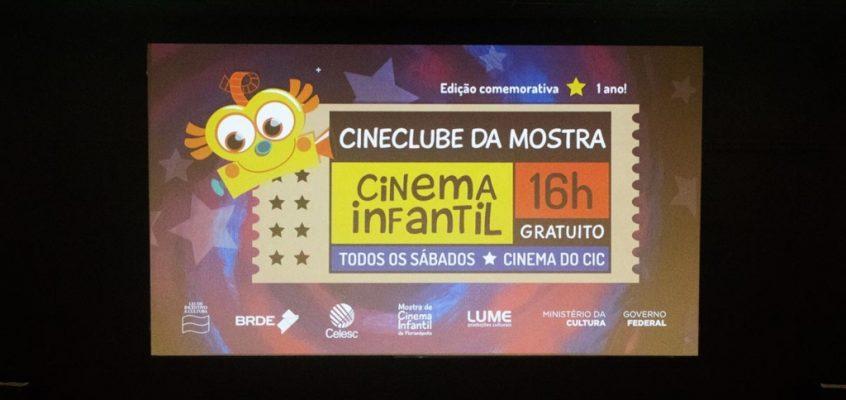 Cineclube Infantil é realizado todos os sábados no CIC