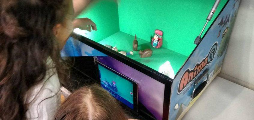 Crianças produzirão filme coletivo em oficina de animação em stop motion