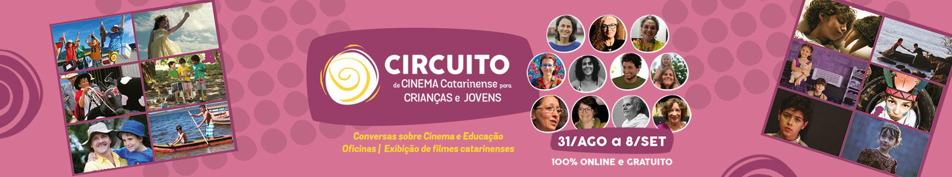 Circuito de Cinema Catarinense para Crianças e Jovens